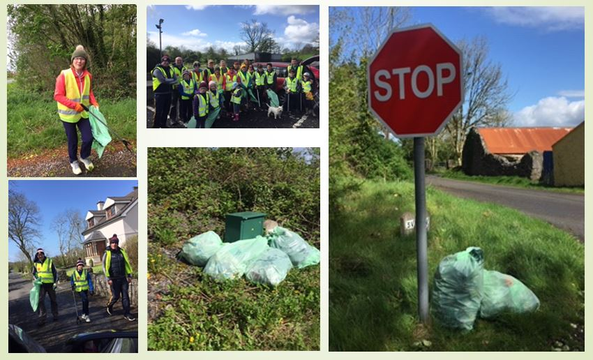 Clooney Spancilhill Tidy Towns Spring Clean 2019